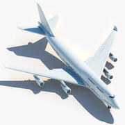 Boeing 747 400 3d model