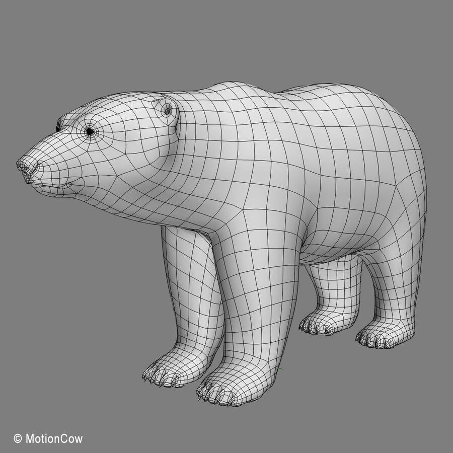 Urso polar royalty-free 3d model - Preview no. 15