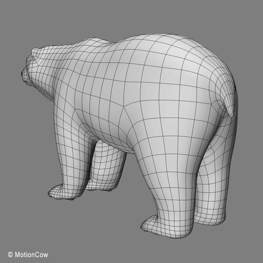 Urso polar royalty-free 3d model - Preview no. 16