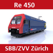 Re 450 modelo 3d