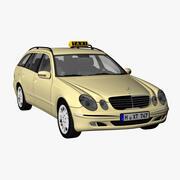 Mercedes E-Class T Taxi 3d model