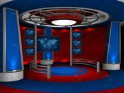 Virtual set 12 3d model
