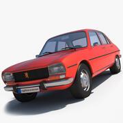 Peugeot 504 _ 3d model