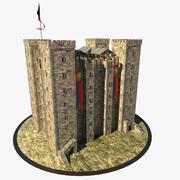 Średniowieczny loch 3d model