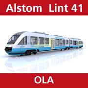 Alstom Lint från OLA 3d model