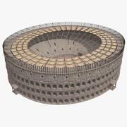 Colosseum met Velarium 3d model