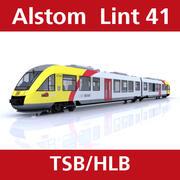 Alstom Lint från Taunusbahn 3d model