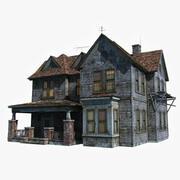 Stary dom wiejski 3d model
