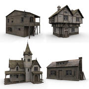 Collezione Old House 3d model