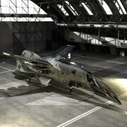 호넷 항공 우주 전투기 3d model