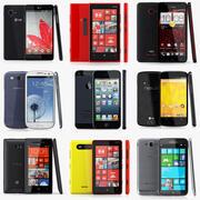 系列智慧型手机2013 v1 3d model