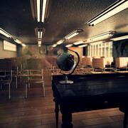Klassenzimmer Interieur 3d model
