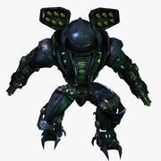 Robot för kraftigt överfall 3d model
