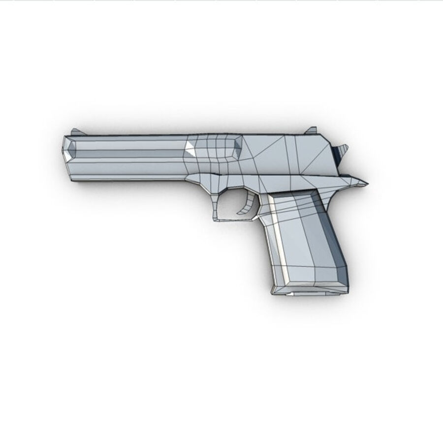 Modern Weapons Pack royalty-free 3d model - Preview no. 25