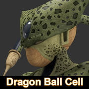 Dragon Ball Cell 3d model