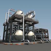 Raffinaderi Enhet RUF 3d model