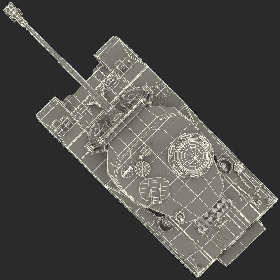 Carro armato medio americano M4 Sherman 2 della seconda guerra mondiale royalty-free 3d model - Preview no. 25