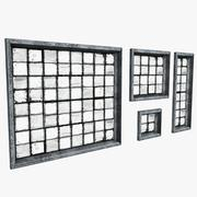 Industrial Warehouse Windows 3d model