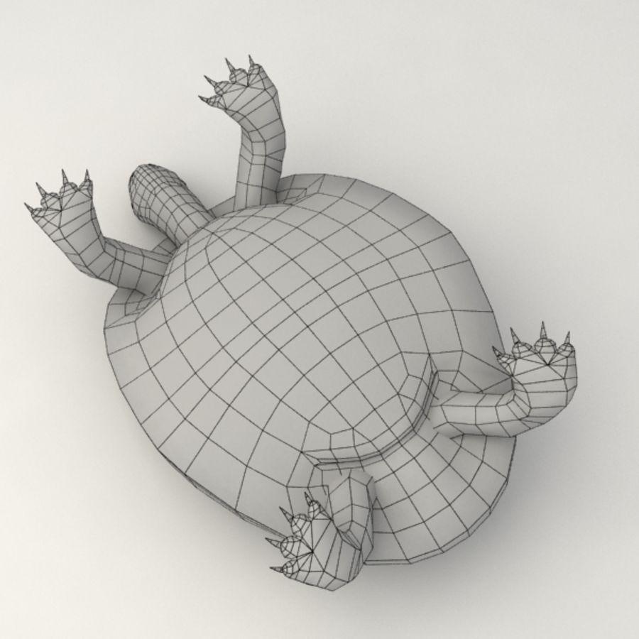 Tortuga aparejada royalty-free modelo 3d - Preview no. 10