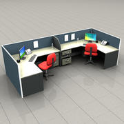 Cubicle 3d model