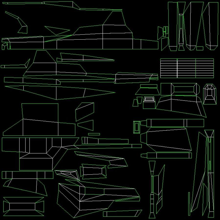 SciFi SU_46 royalty-free 3d model - Preview no. 8