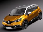 Renault Captur 2014 3d model