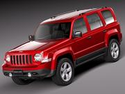 Jeep Patriot 2014 3d model