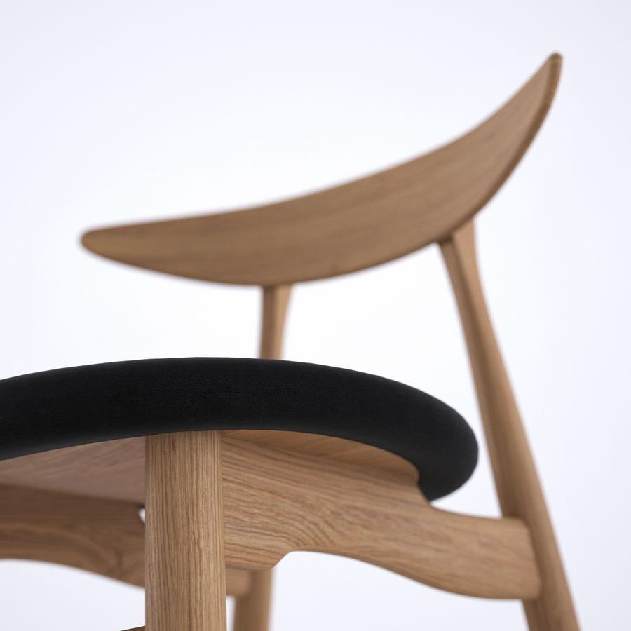 Cadeira CH33 por Hans Wegner royalty-free 3d model - Preview no. 6