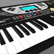 Keyboard: Yamaha PSR 270 3d model