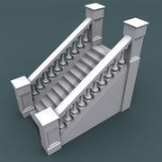 계단 022_12 계단 3d model