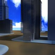город 3d model