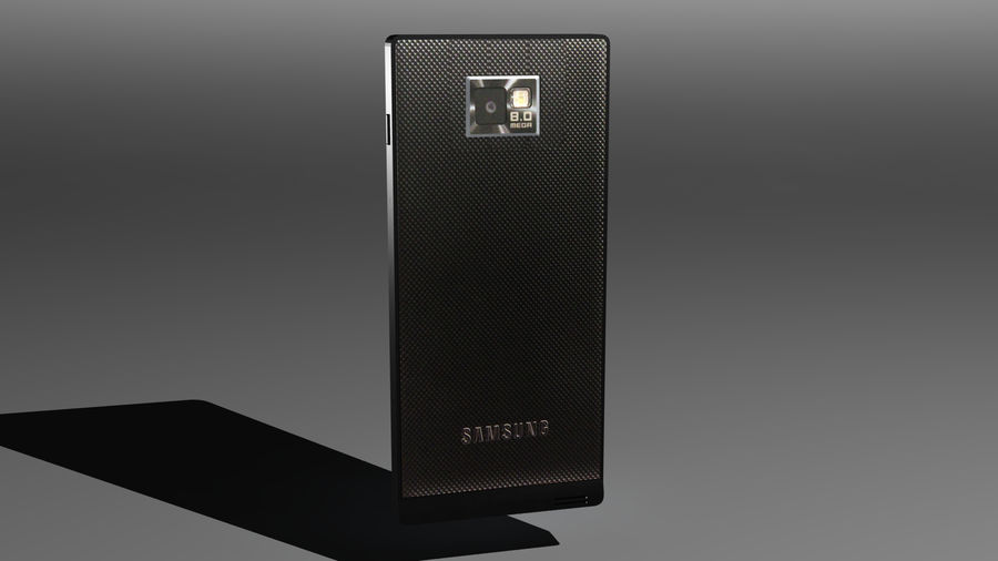 삼성 Galaxy S2 royalty-free 3d model - Preview no. 1