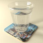 Стакан воды 3d model