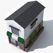 Küçük Japonya Restoranı 3d model
