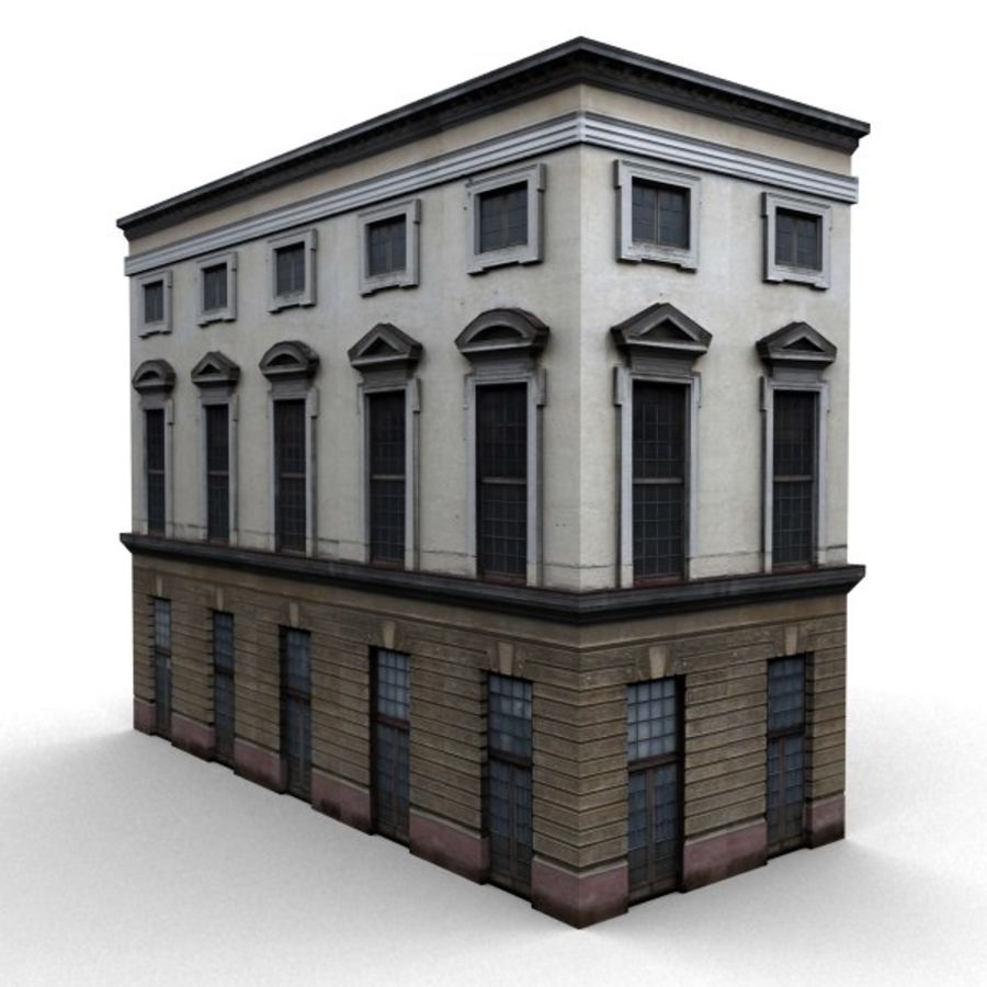 Building 006-010-3-1M royalty-free 3d model - Preview no. 2