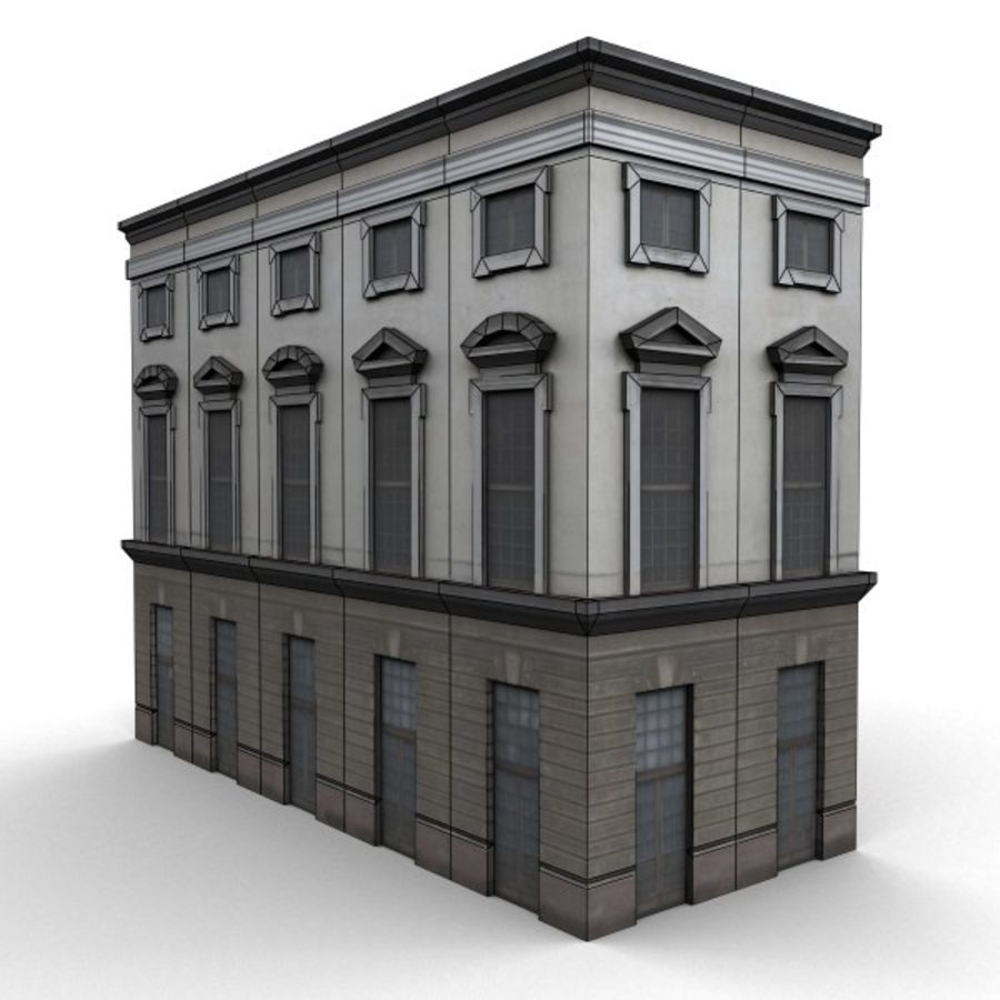 Building 006-010-3-1M royalty-free 3d model - Preview no. 4