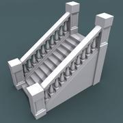 Escalera001_12 paso modelo 3d