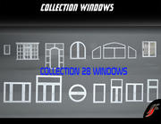 SET 28 WINDOWS 3d model