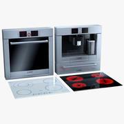 Bosch kitchen appliances 3d model