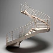 Stair 10 3d model