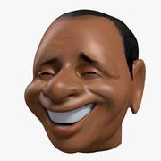 Berlusconi Caricature 3d model