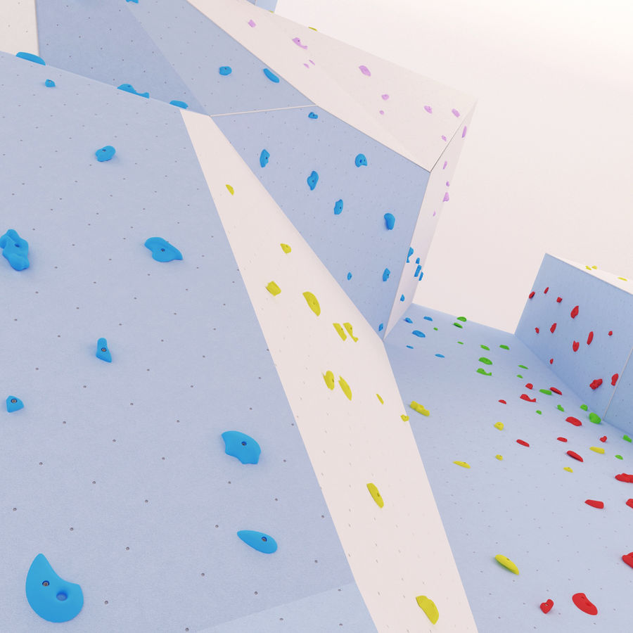 Climbing Wall royalty-free 3d model - Preview no. 10