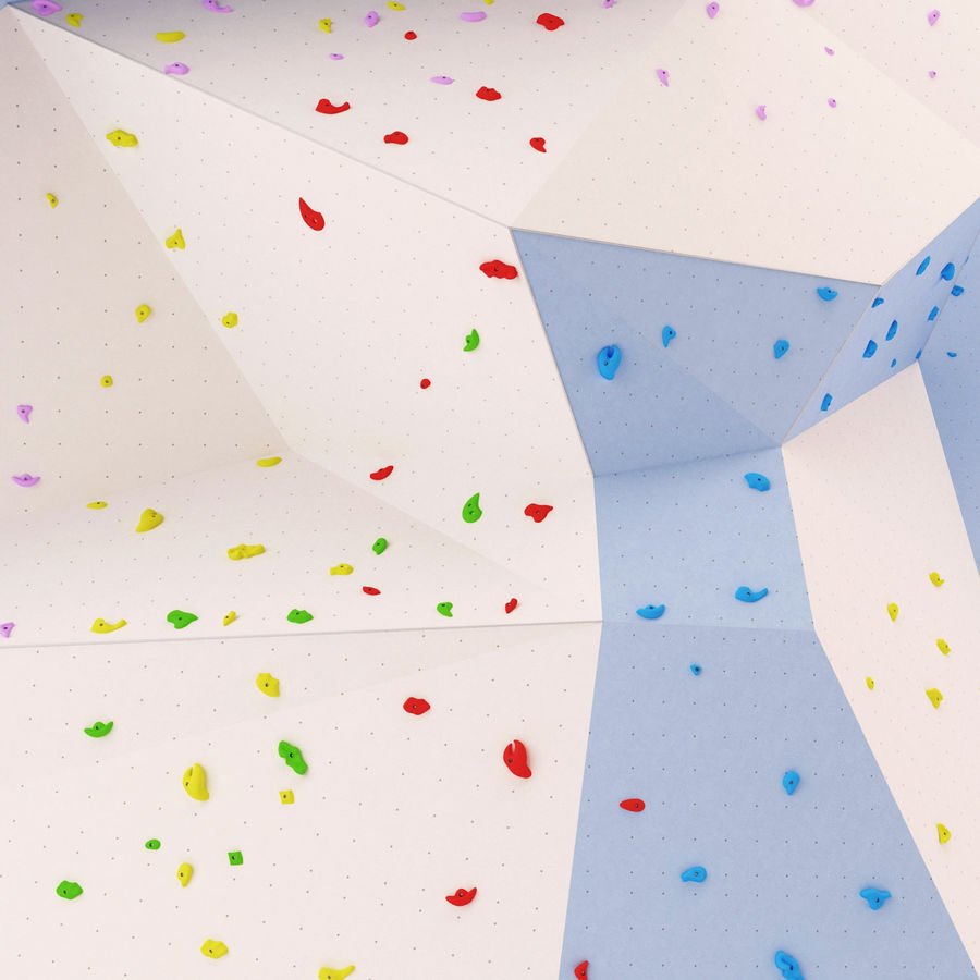 Climbing Wall royalty-free 3d model - Preview no. 9