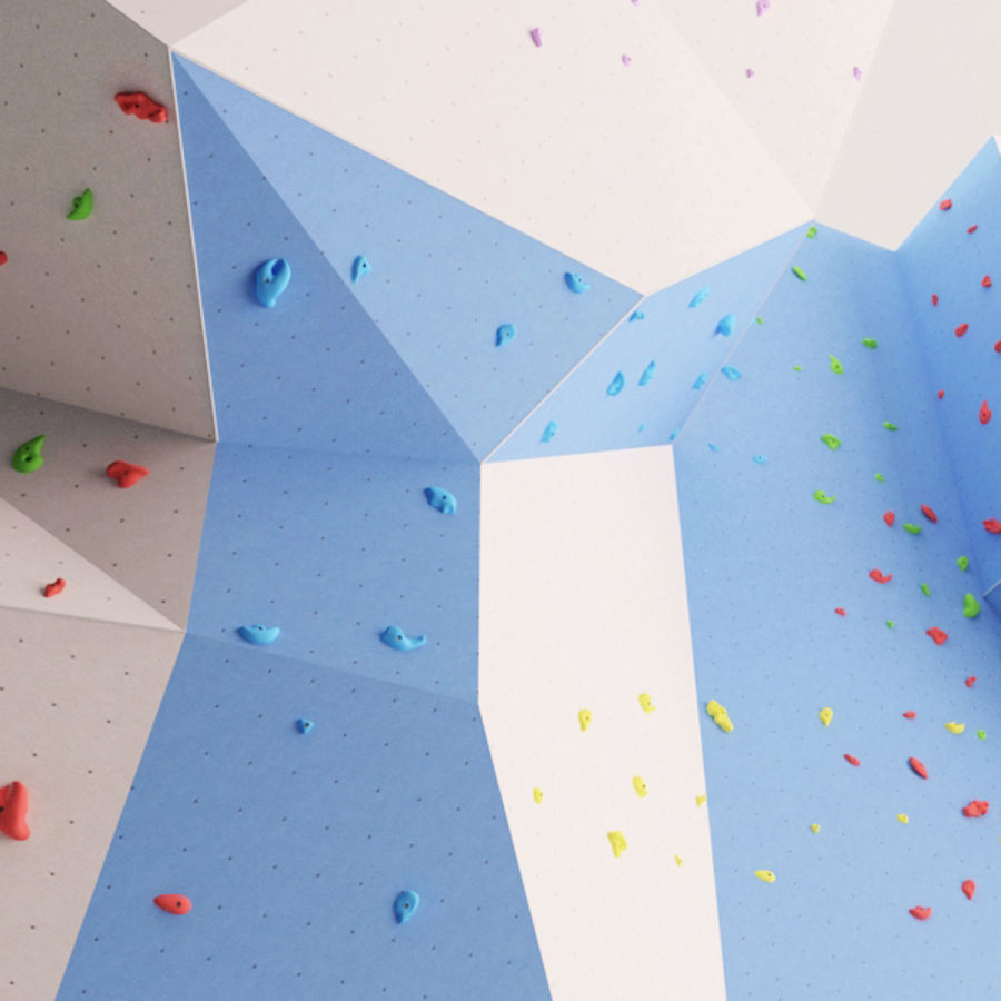 Climbing Wall royalty-free 3d model - Preview no. 7