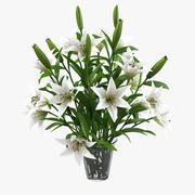 Lily Flower Entrance Bouquet 3d model