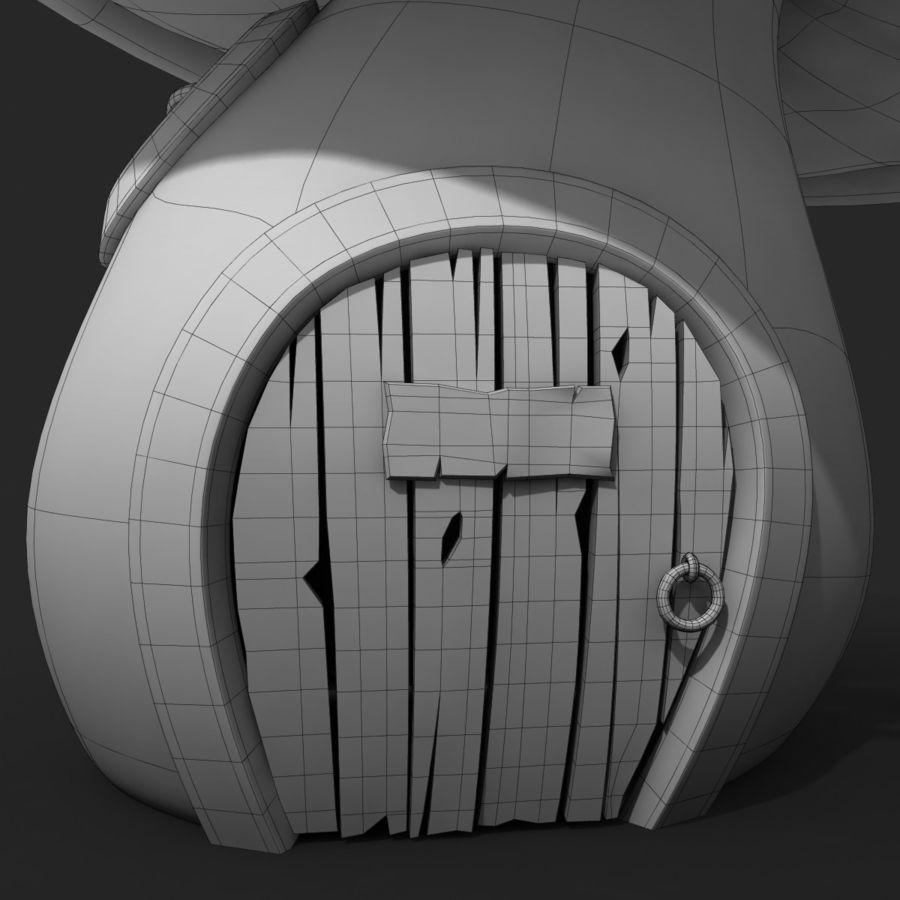 Grzyb kreskówka royalty-free 3d model - Preview no. 12