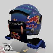 Capacete Sebastian Vettel 2013 3d model