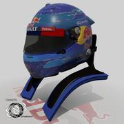 Sebastian Vettel 2013 Helmet 3d model