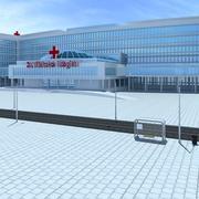 Hospital modelo 3d