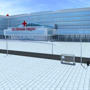 Krankenhaus 3d model